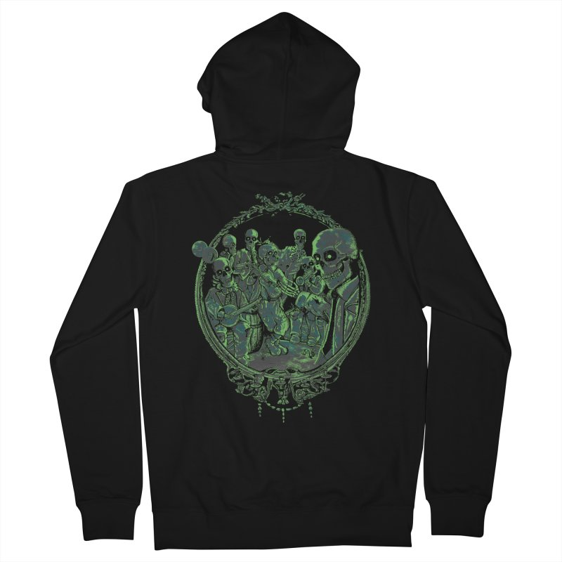 An Occult Classic Men's French Terry Zip-Up Hoody by Dega Studios
