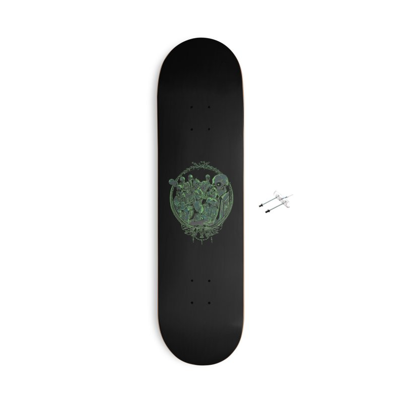An Occult Classic Accessories With Hanging Hardware Skateboard by Dega Studios