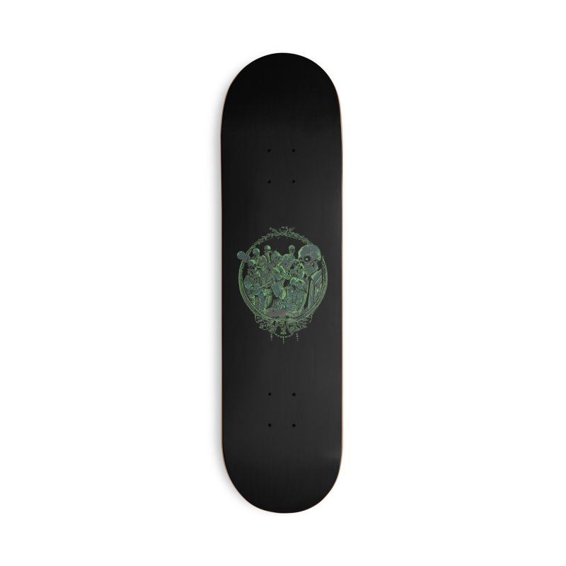 An Occult Classic Accessories Deck Only Skateboard by Dega Studios