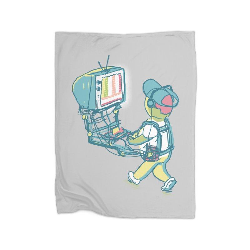 kids these days Home Blanket by Dega Studios