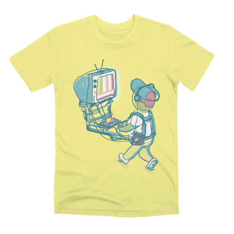 kids these days Men's Premium T-Shirt by Dega Studios