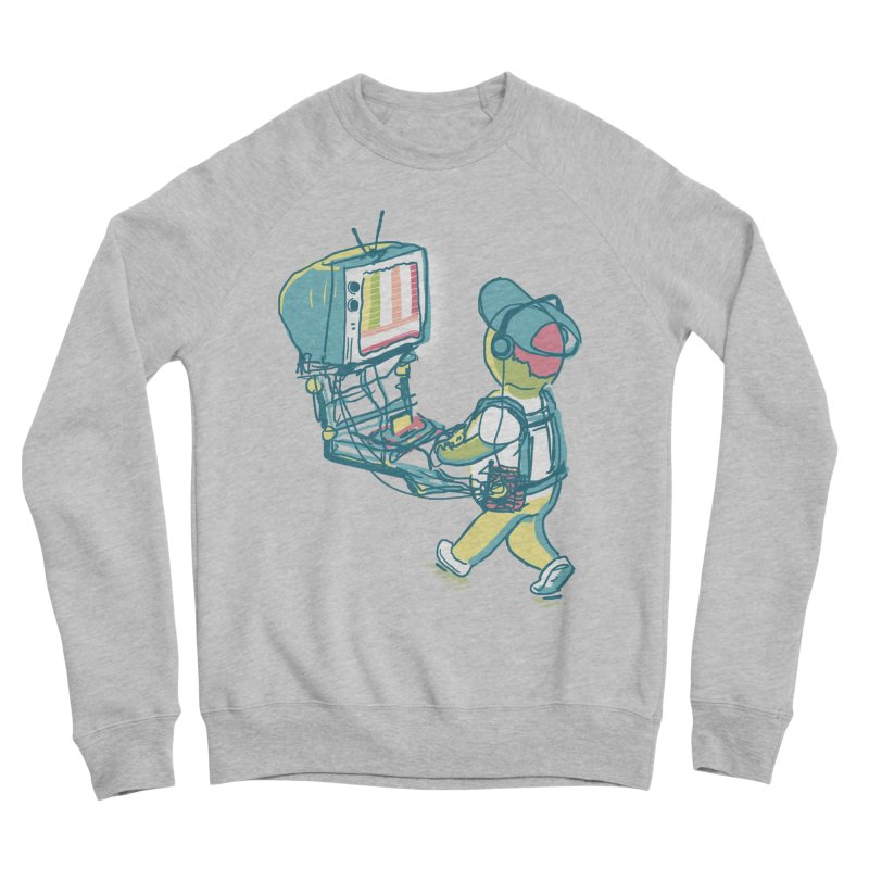 kids these days Men's Sponge Fleece Sweatshirt by Dega Studios