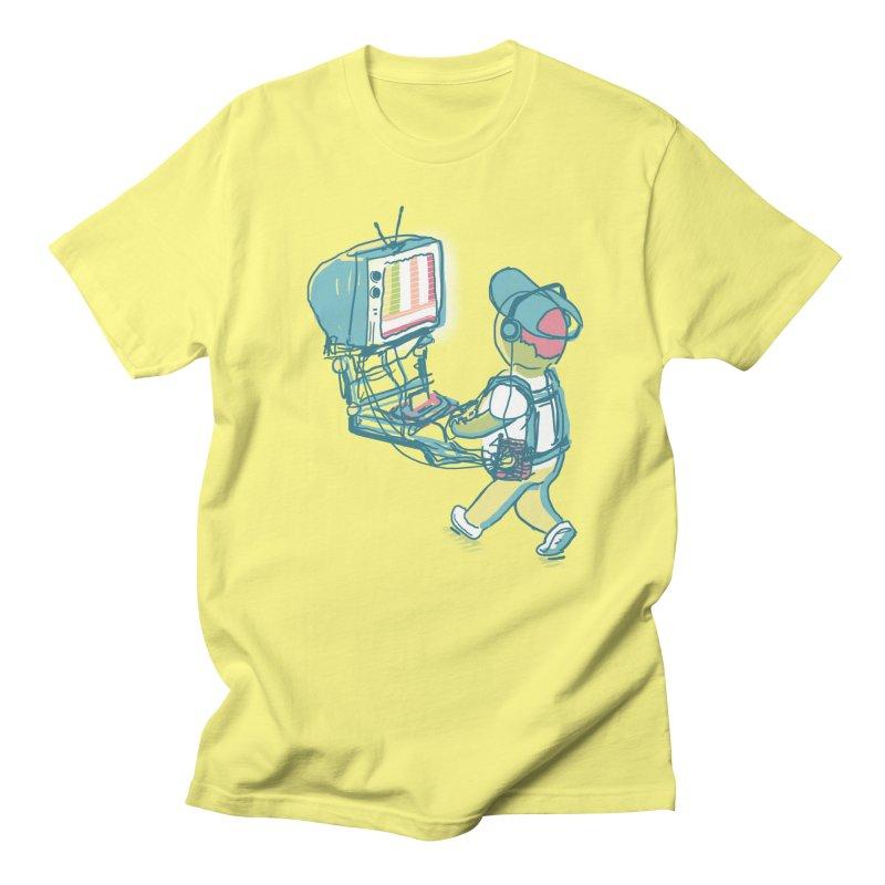 kids these days in Men's Regular T-Shirt Lemon by Dega Studios