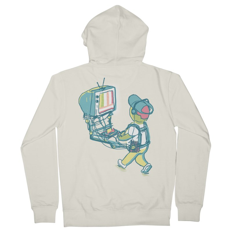 kids these days Women's French Terry Zip-Up Hoody by Dega Studios