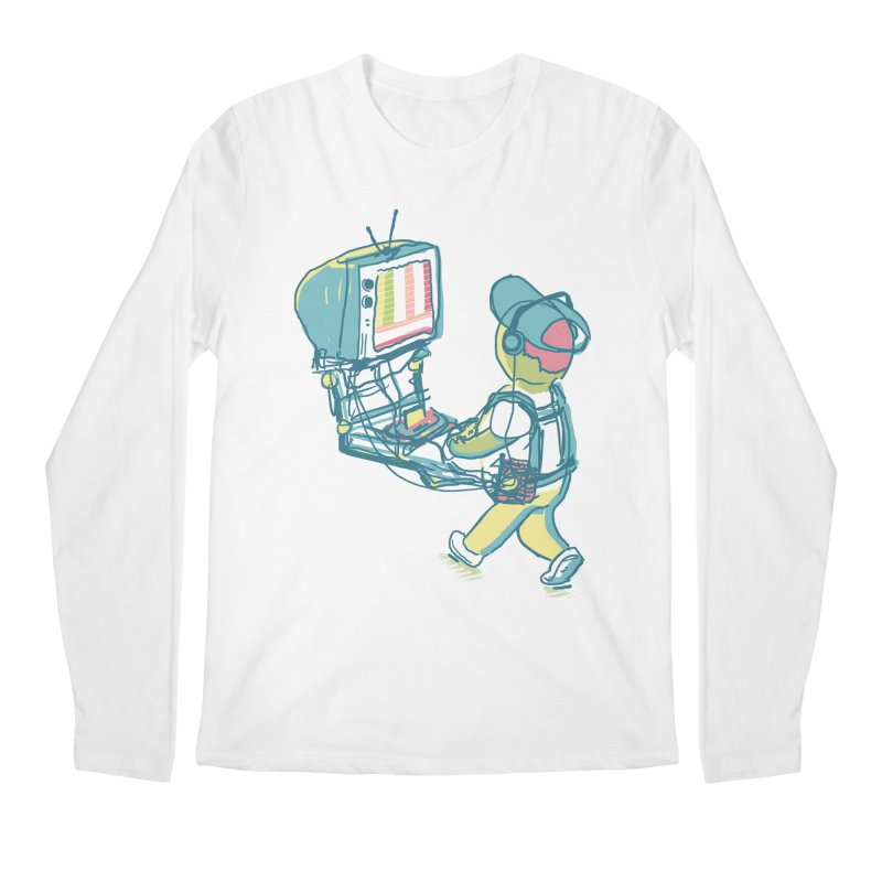 kids these days Men's Regular Longsleeve T-Shirt by Dega Studios