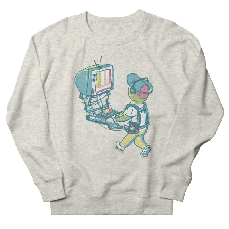 kids these days Women's French Terry Sweatshirt by Dega Studios