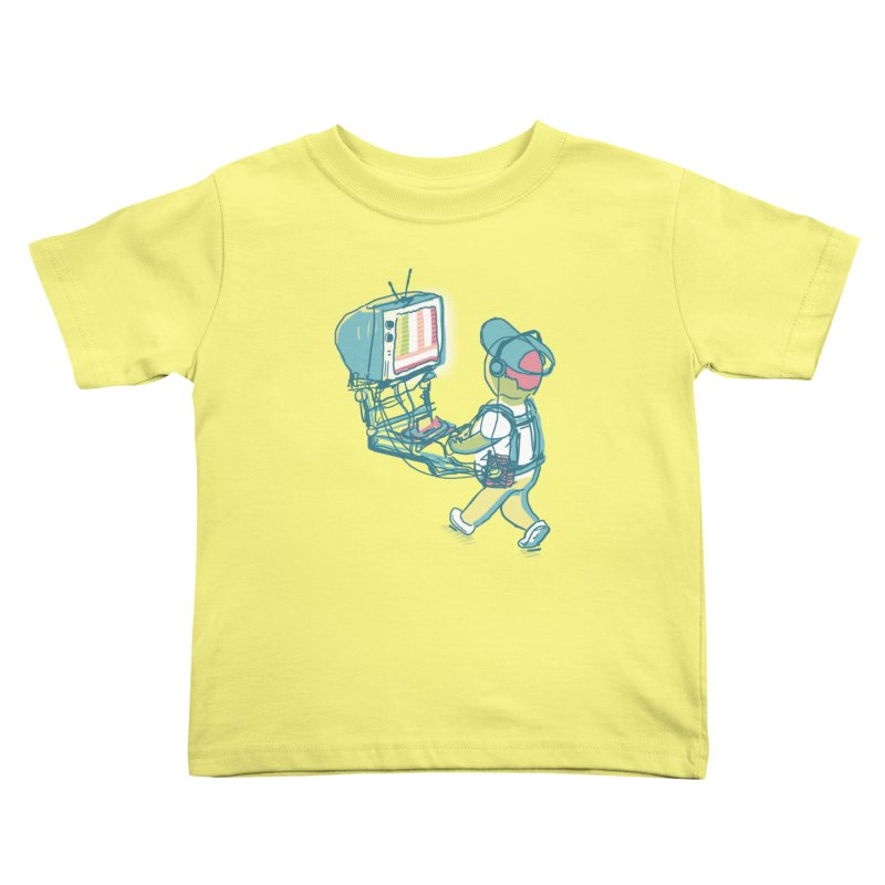 kids these days Kids Toddler T-Shirt by Dega Studios