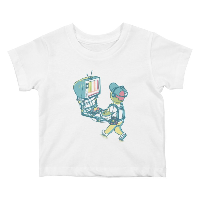 kids these days Kids Baby T-Shirt by Dega Studios