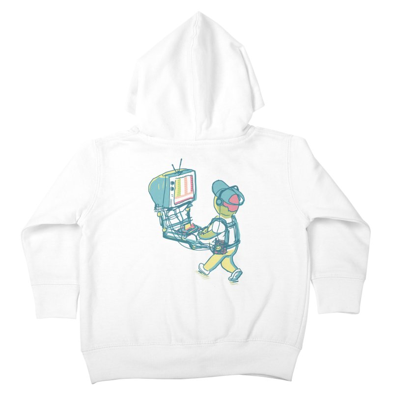 kids these days Kids Toddler Zip-Up Hoody by Dega Studios