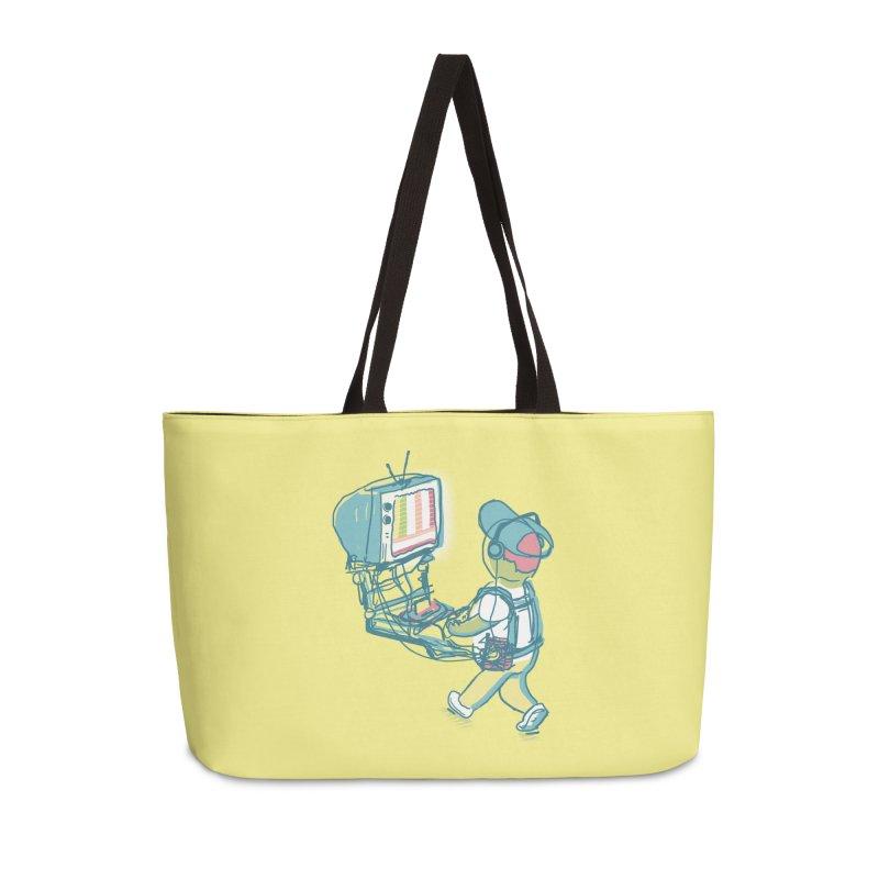 kids these days Accessories Weekender Bag Bag by Dega Studios