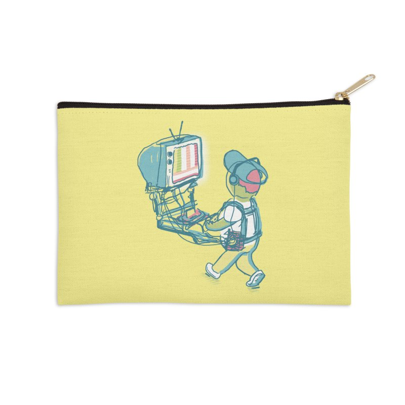 kids these days Accessories Zip Pouch by Dega Studios