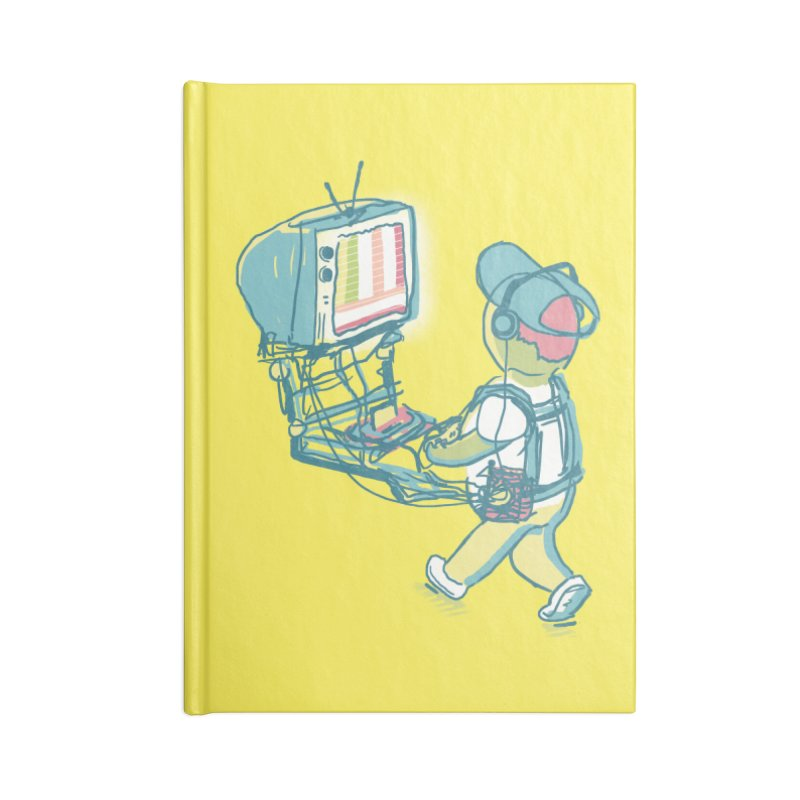 kids these days Accessories Notebook by Dega Studios