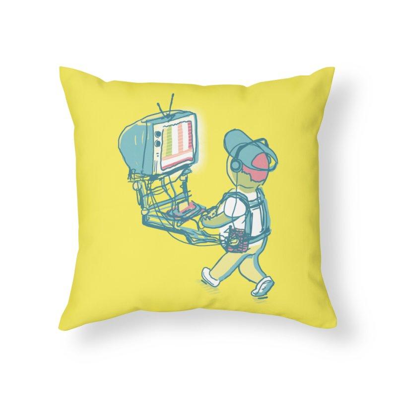 kids these days Home Throw Pillow by Dega Studios
