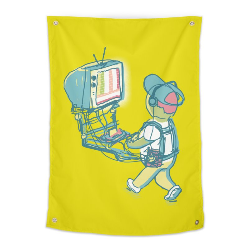 kids these days Home Tapestry by Dega Studios