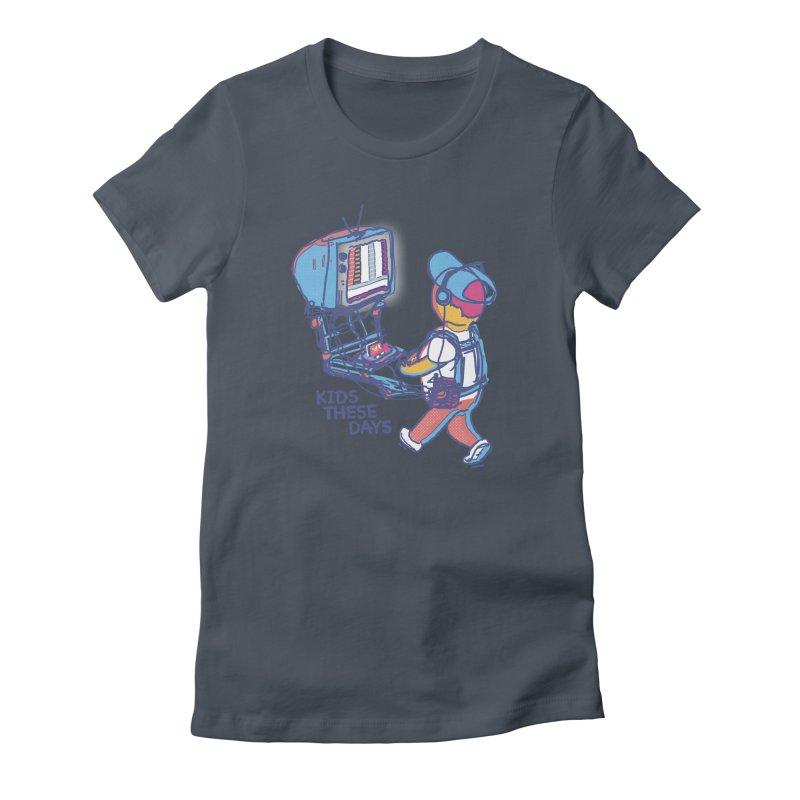 kids these days Women's T-Shirt by Dega Studios