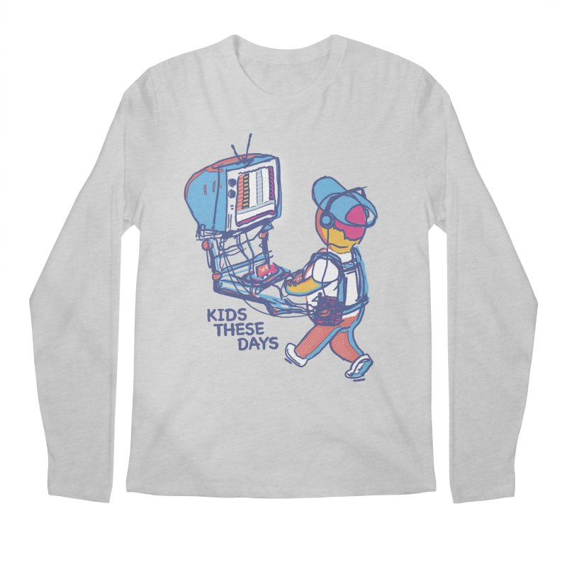 kids these days Men's Longsleeve T-Shirt by Dega Studios