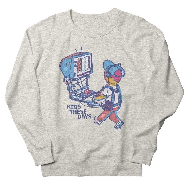 kids these days Men's Sweatshirt by Dega Studios