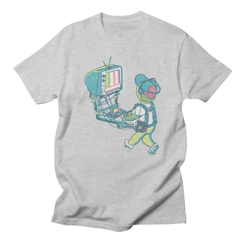 kids these days in Men's Regular T-Shirt Heather Grey by Dega Studios