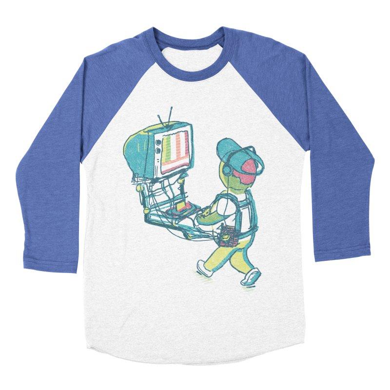 kids these days Men's Baseball Triblend Longsleeve T-Shirt by Dega Studios