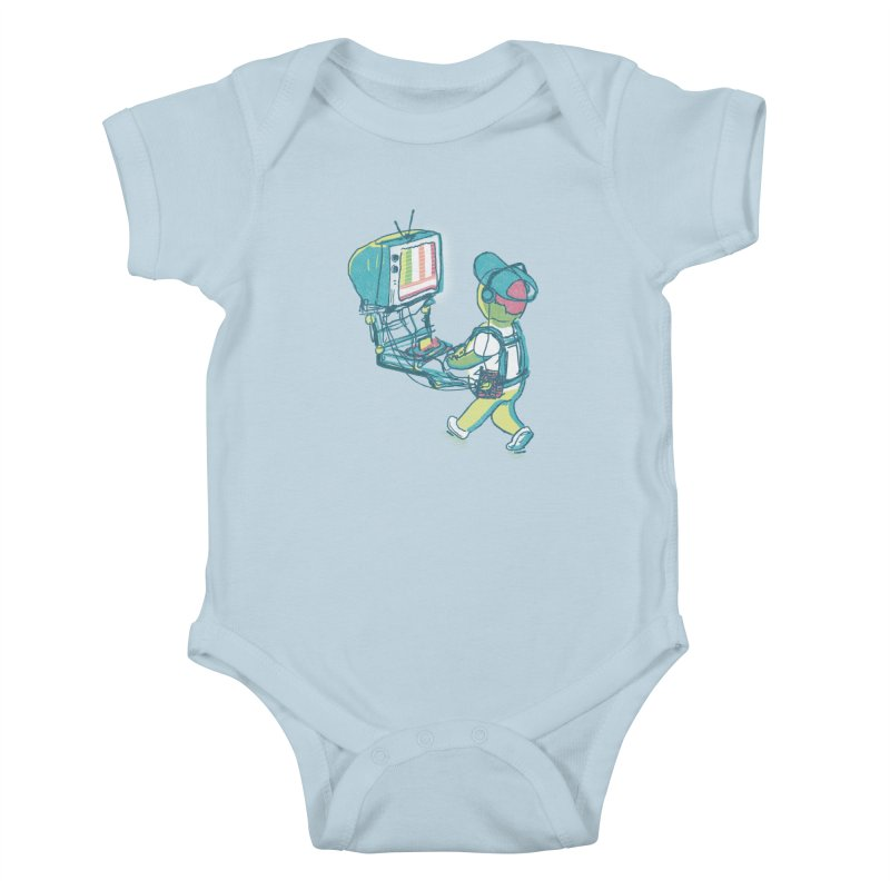 kids these days Kids Baby Bodysuit by Dega Studios