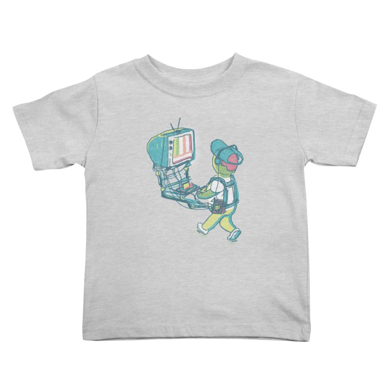 kids these days Kids Toddler T-Shirt by Dega Studios
