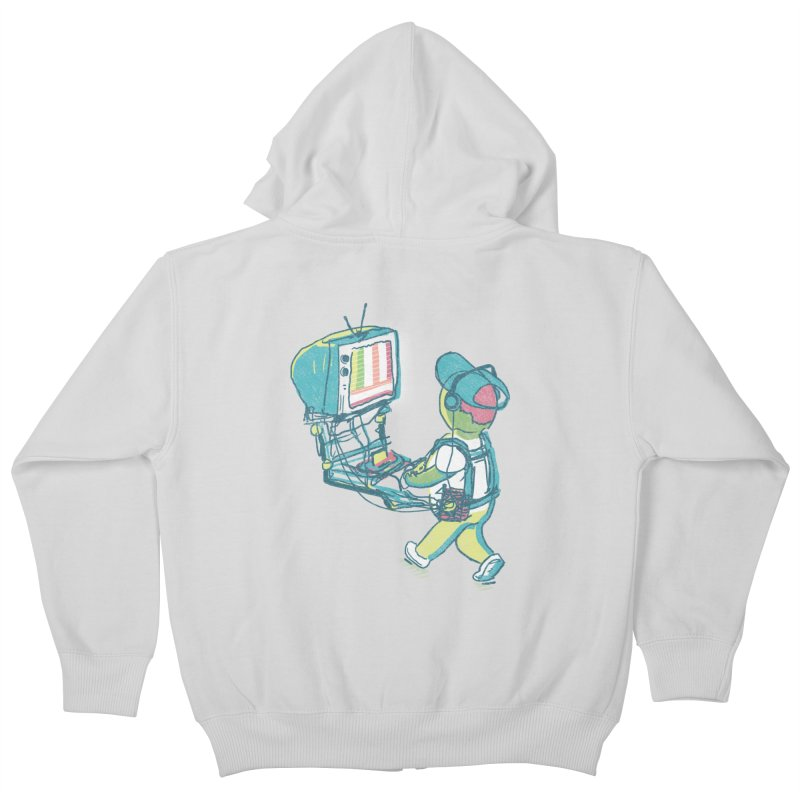 kids these days Kids Zip-Up Hoody by Dega Studios