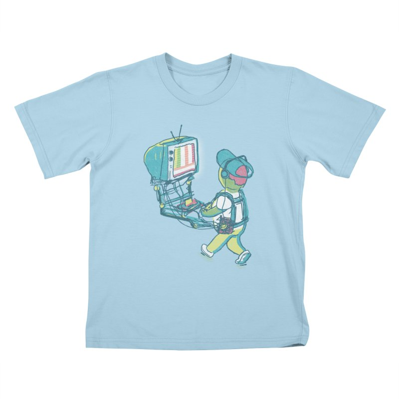 kids these days Kids T-Shirt by Dega Studios