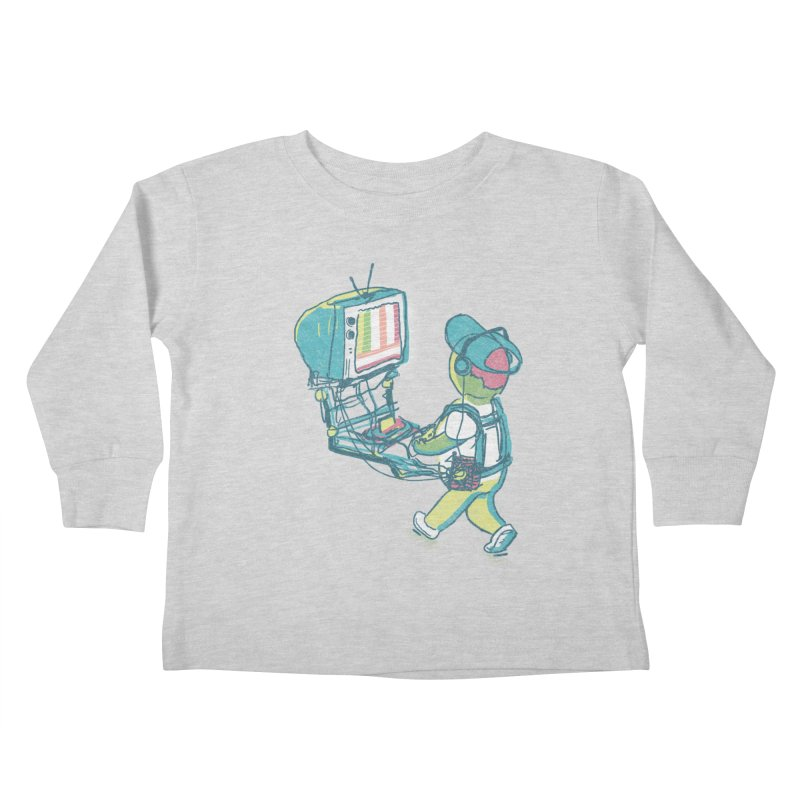 kids these days Kids Toddler Longsleeve T-Shirt by Dega Studios