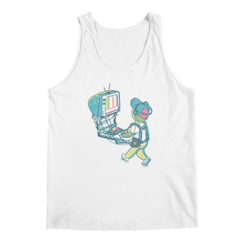 kids these days Men's Regular Tank by Dega Studios