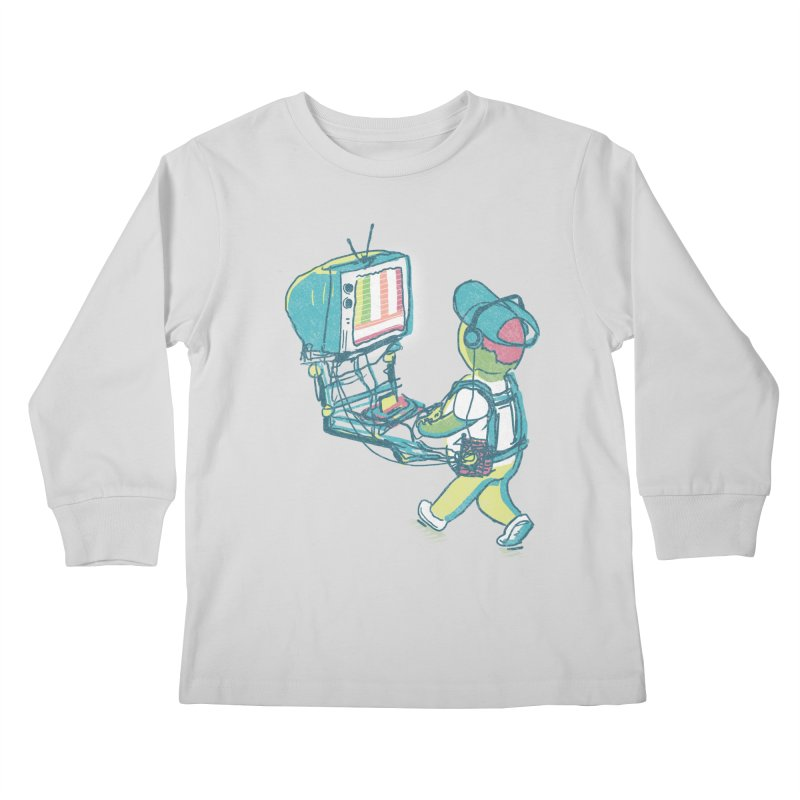 kids these days Kids Longsleeve T-Shirt by Dega Studios