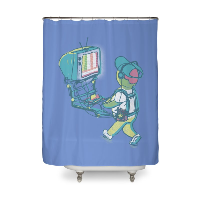 kids these days Home Shower Curtain by Dega Studios