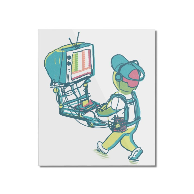 kids these days Home Mounted Acrylic Print by Dega Studios