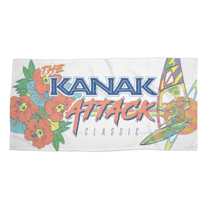 The Kanak Attack Classic Accessories Beach Towel by Dega Studios