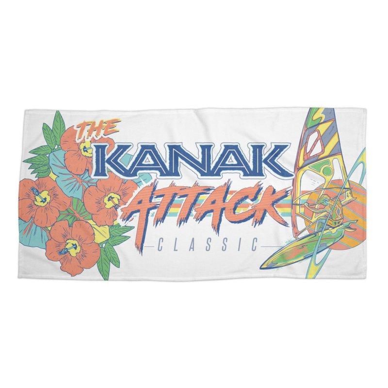 The Kanak Attack Classic in Beach Towel by Dega Studios