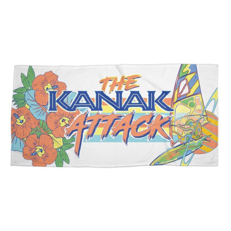 The Kanak Attack Accessories Beach Towel by Dega Studios