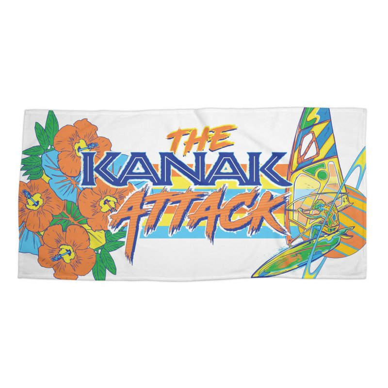 The Kanak Attack Accessories Beach Towel by Dega Studios