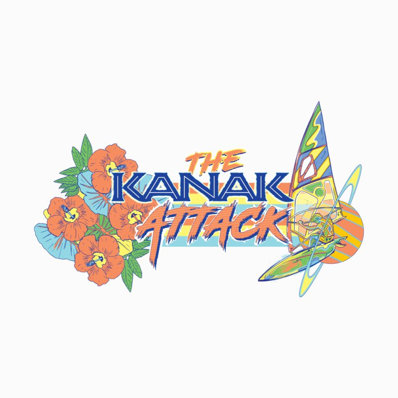 The Kanak Attack Accessories Notebook by Dega Studios