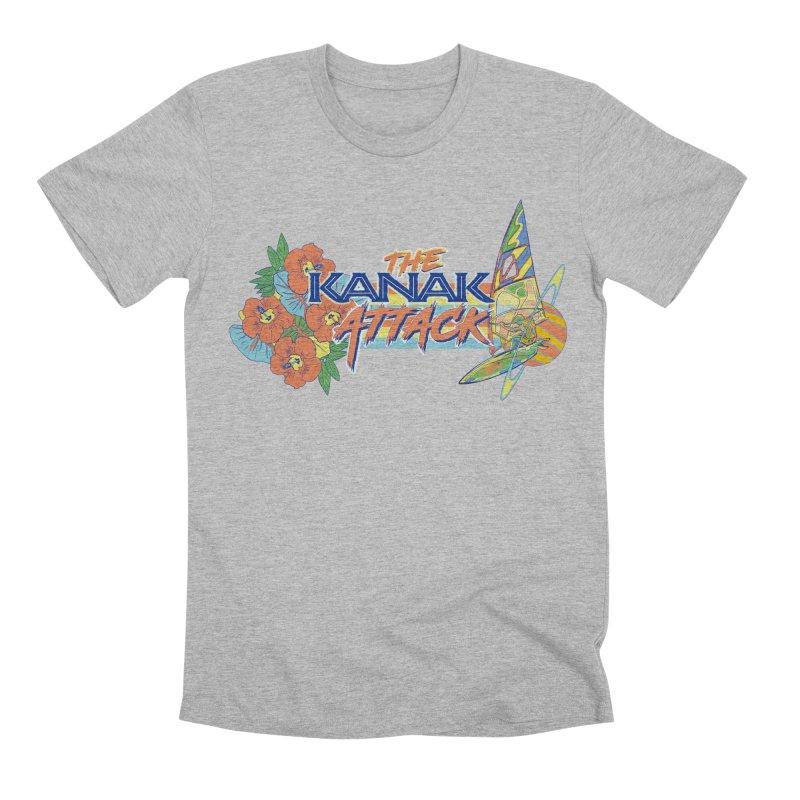 The Kanak Attack Men's Premium T-Shirt by Dega Studios