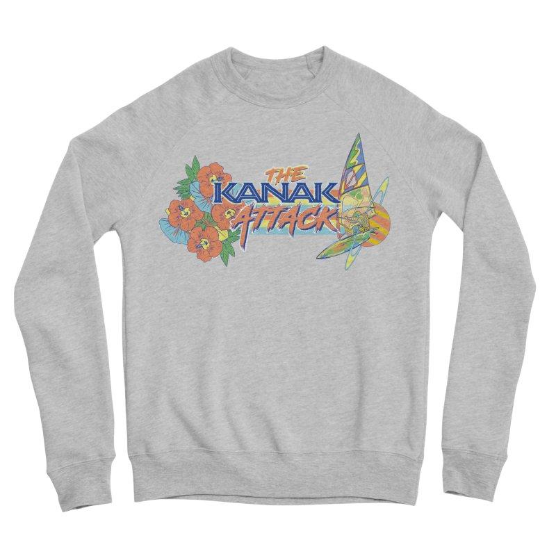 The Kanak Attack Men's Sponge Fleece Sweatshirt by Dega Studios