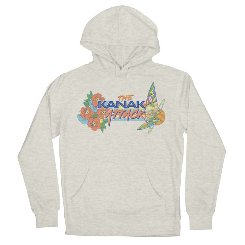 The Kanak Attack Men's French Terry Pullover Hoody by Dega Studios