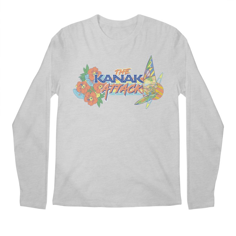 The Kanak Attack Men's Regular Longsleeve T-Shirt by Dega Studios