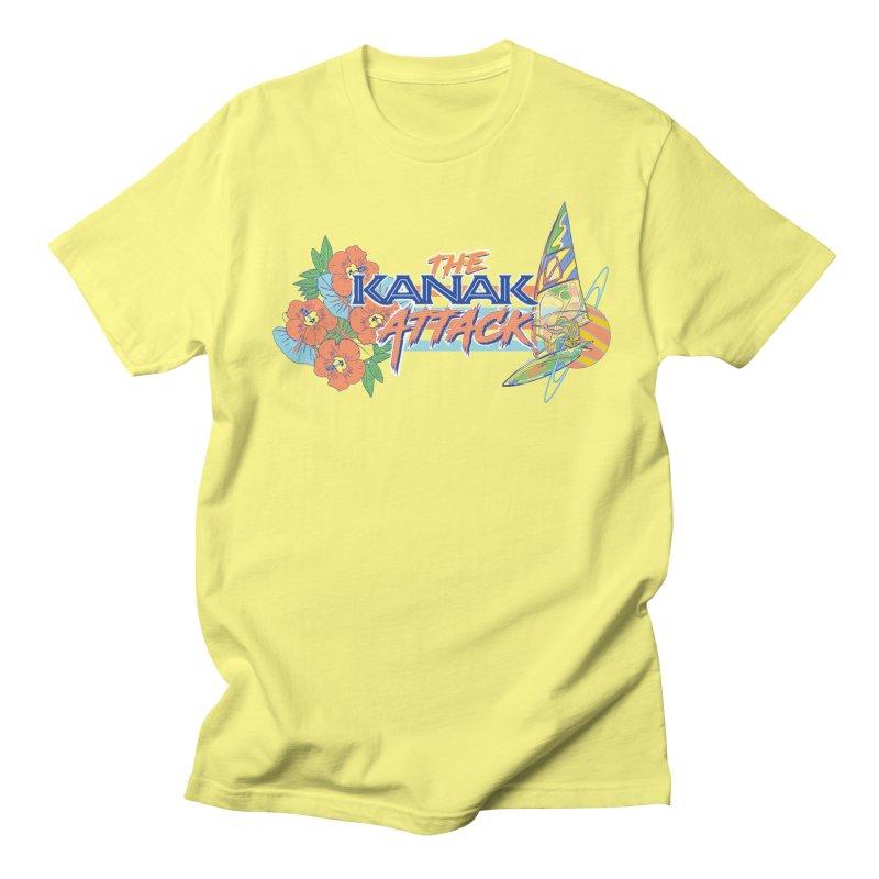 The Kanak Attack Men's Regular T-Shirt by Dega Studios