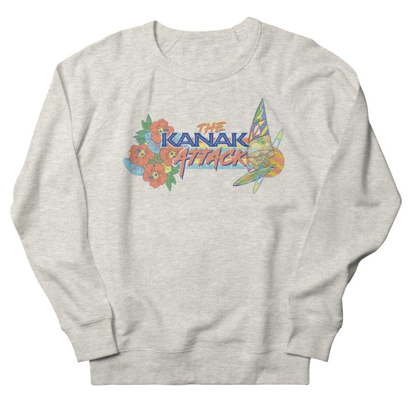 The Kanak Attack Women's French Terry Sweatshirt by Dega Studios