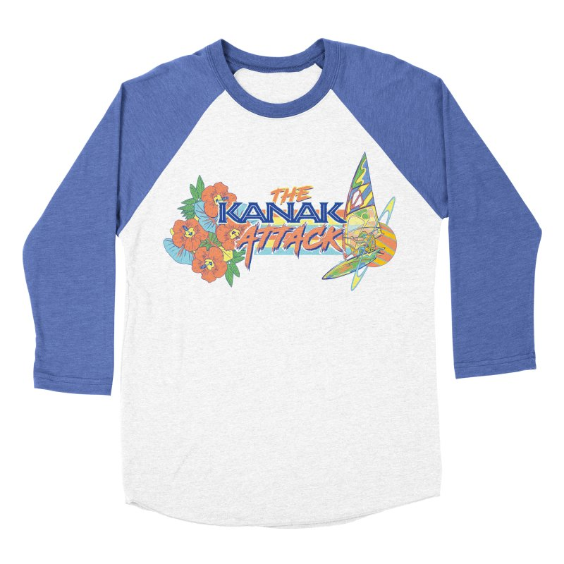 The Kanak Attack Women's Baseball Triblend Longsleeve T-Shirt by Dega Studios