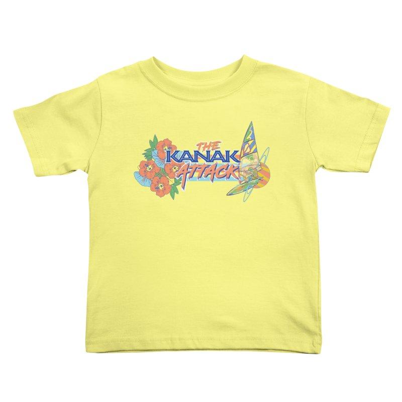 The Kanak Attack Kids Toddler T-Shirt by Dega Studios