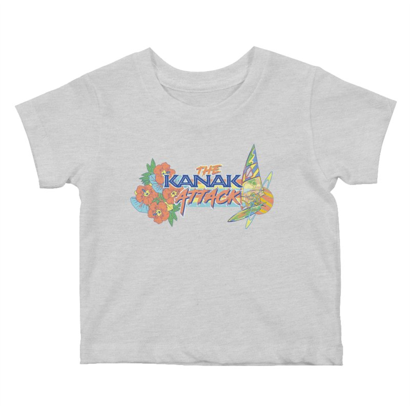 The Kanak Attack Kids Baby T-Shirt by Dega Studios