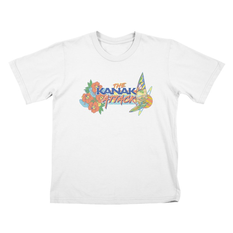 The Kanak Attack Kids T-Shirt by Dega Studios