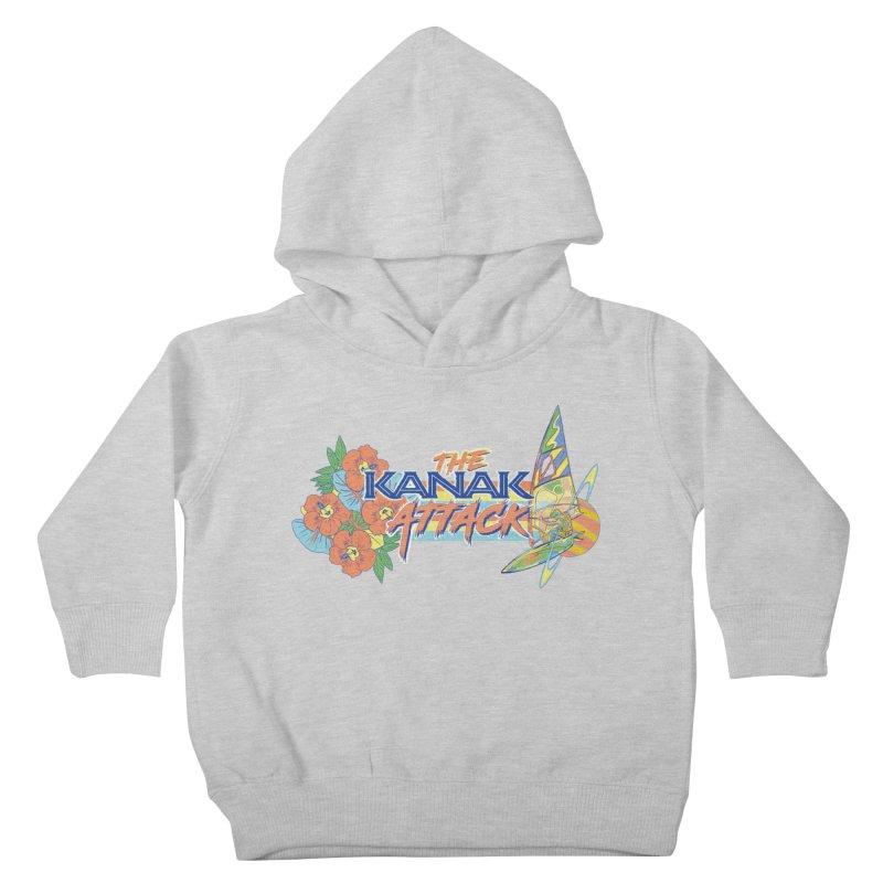The Kanak Attack Kids Toddler Pullover Hoody by Dega Studios