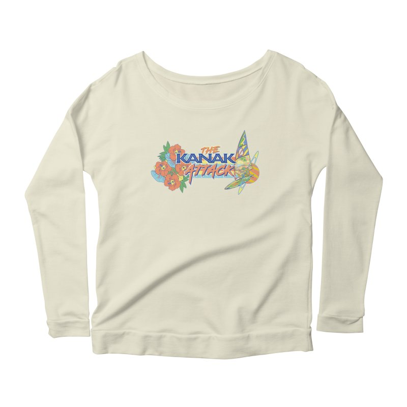 The Kanak Attack Women's Scoop Neck Longsleeve T-Shirt by Dega Studios