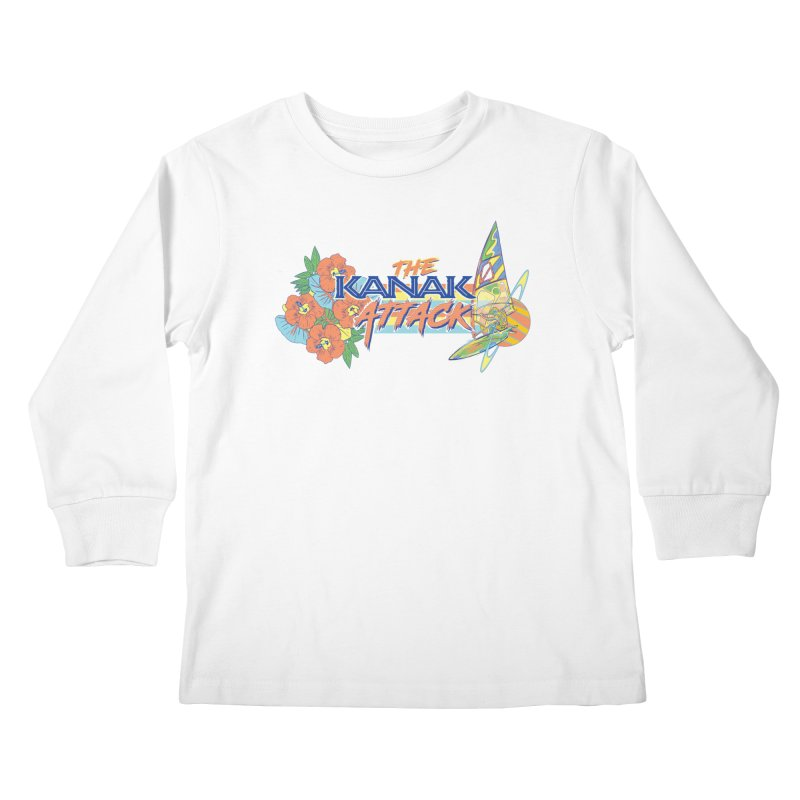 The Kanak Attack Kids Longsleeve T-Shirt by Dega Studios